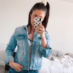 Cute Fade Blue Jean Jacket